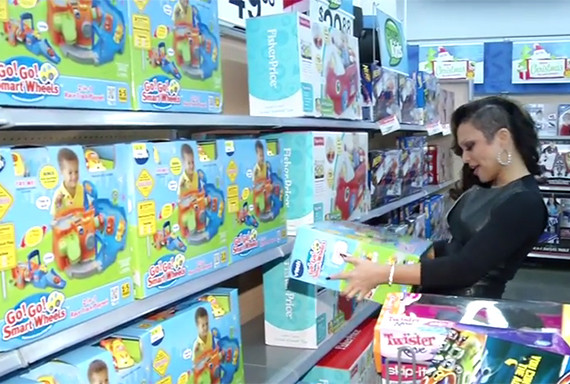Chante Moore toy shopping